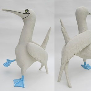 Jan van Gent bird sculpture