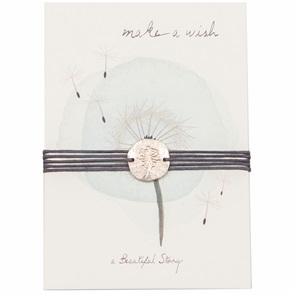 Wish bracelet Dandelion