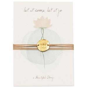 Wish bracelet Lotus