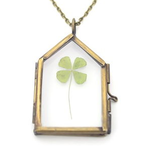 Necklace Four-leaf-clover