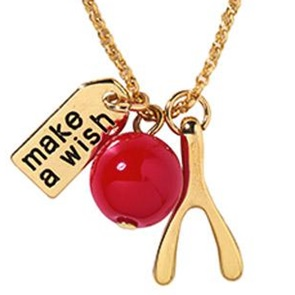 Wish Necklace Wishbone