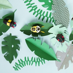 Jewel beetle 3d