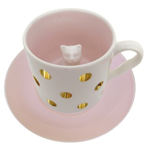 Cup & saucer Cat