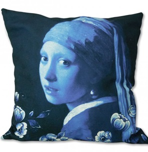 Pillow cover Girl with a pearl earring