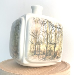 Dutch Landscape vase Trees