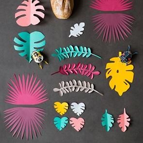 diy styling boek Color leaves*