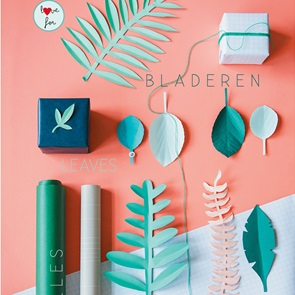 diy styling book Green leaves
