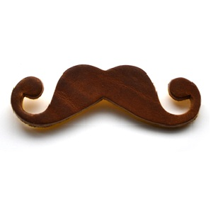 Mustache Brooch