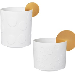 Set of 2 light Sun dots