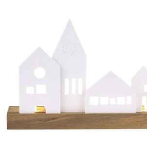 Lichtobject huisjes