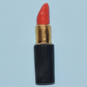 Lipstick brooch