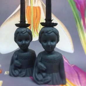 Little black dress Candle holder