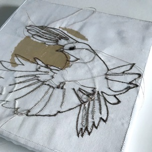 SOLD Artwork Birds 4