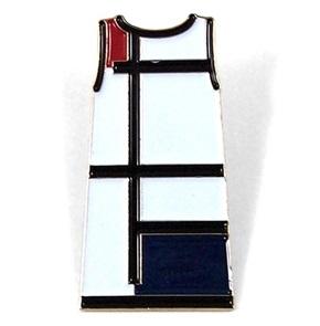 Brooch Mondriaan jurk