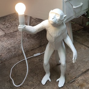 Monkey lamp staand