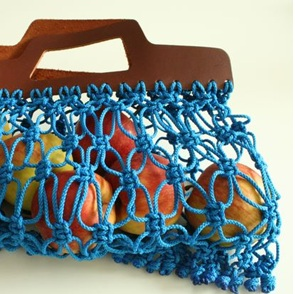 Net bag blue