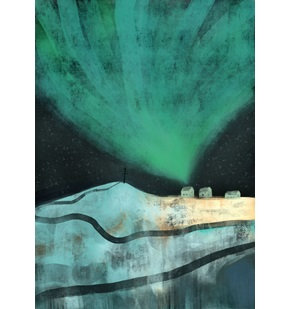Kunst-print Northen Lights