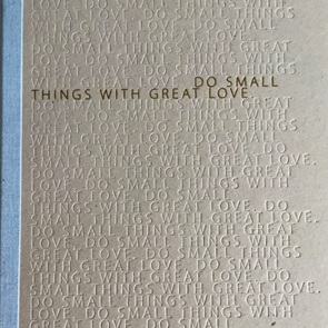 Notitie boek Small things*