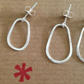 Earrings Toutenrond silver
