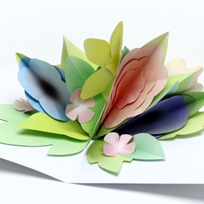 Paper flowers Spring