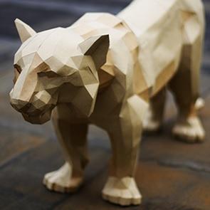 Paper kit Tiger