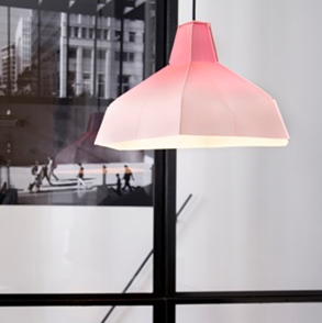 Folded Roze Lampshade