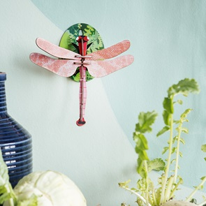 Dragonfly pink wallobject