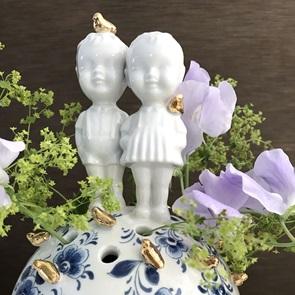 Quitie pie Vase boy&girl