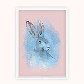 Kunst-print Magical Rabbit