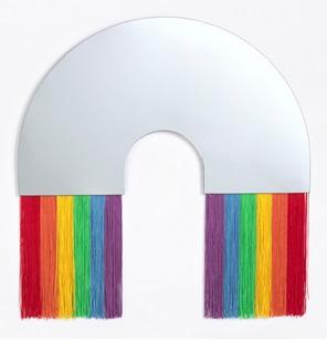 Rainbow spiegel L