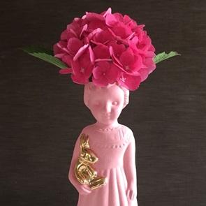 Roze popje open mind