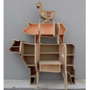 Dressoir Sendinganimals Cow