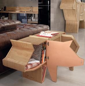 Kast Sendinganimals Pig