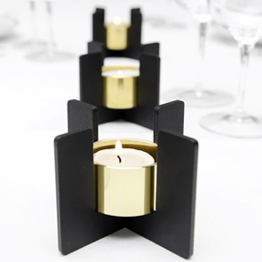 Set 3 Tea Light Holders