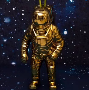Starman Gold vase