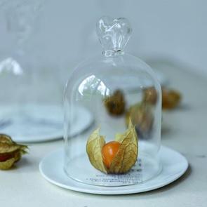 Mini glass bell Heart
