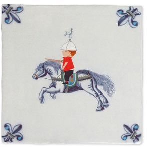 Storytiles Knigt on horseback