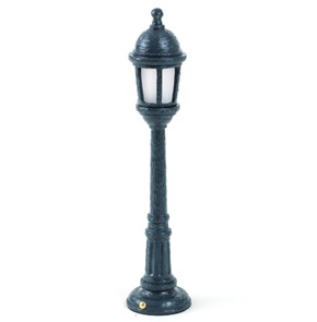 Street Lamp Dining Grey