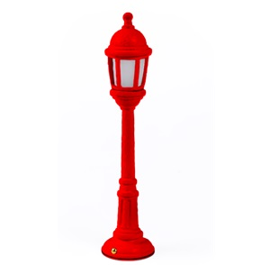 Street Lamp Dining Red