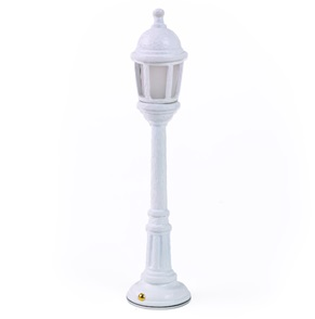 Street Lamp Dining White