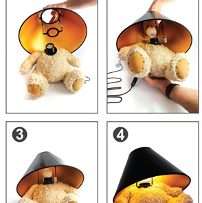 Teddy beer Lamp