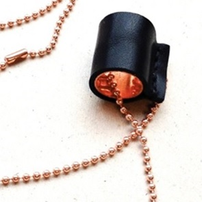 Tube Necklace black