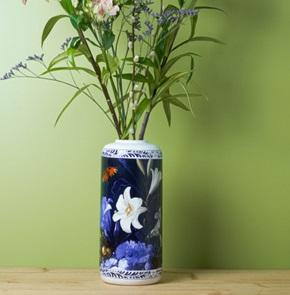 Vaas Cilinder Bloemen