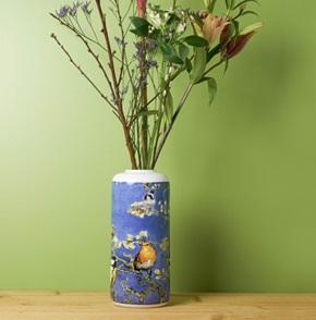 Vaas Cilinder Van Gogh vogels