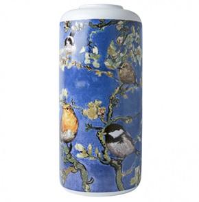 Vase Cylinder Van Gogh birds