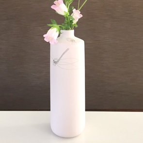 Vase caraf Insect light pink