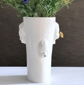 Vase heads