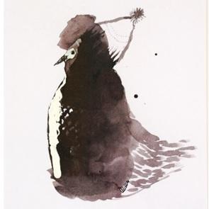 Kunstwerk droom vogel 1