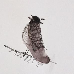 Kunstwerk droom vogel 4