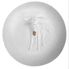 Wall plate Calf 3d